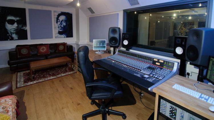 The Roost recording studio
