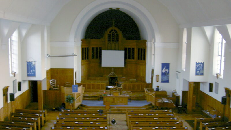 NCBC nave prior to upgrade
