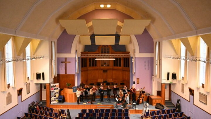 Norwich Baroque in upgraded church